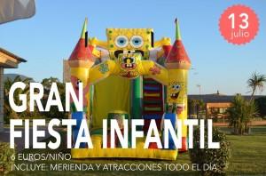 Gran Fiesta Infantil en Restaurante Lugar - domingo 13 julio