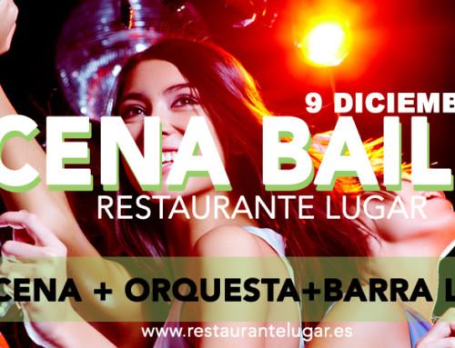 Cena baile 9 diciembre