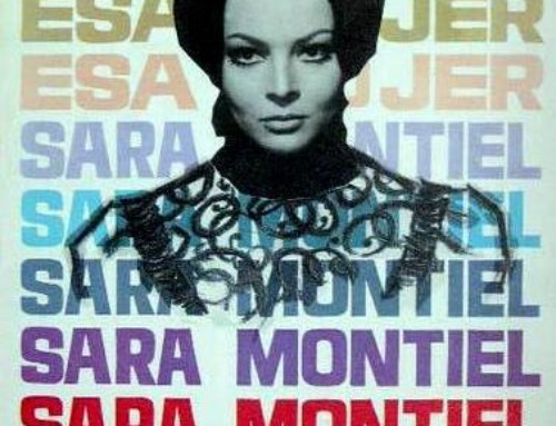 Sara Montiel en Santa Maria de Oia