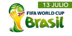 13 julio final del mundial en pantalla gigante
