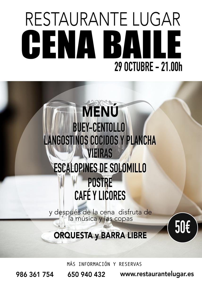 Cena baile 29 octubre