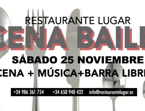 Cena baile 25 noviembre – Restaurante Marisquería Lugar